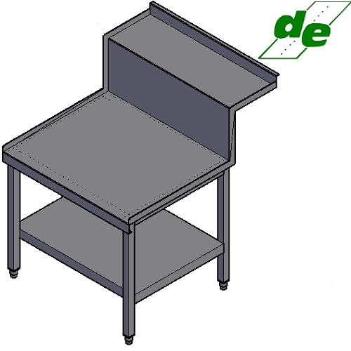Delvo Stainless Steel Stand for Banks Bain Maries DSBMS