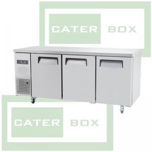 RYPF9042GR 3 Door Refrigerated Counter