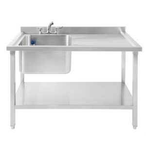 SBLD1200 Stainless Steel Commercial Sink