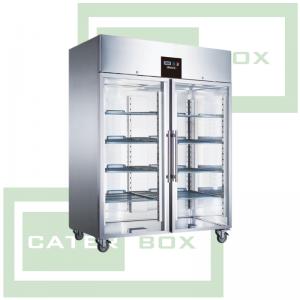 Blizzard Double Glass Door Refrigerator BR2SSCR